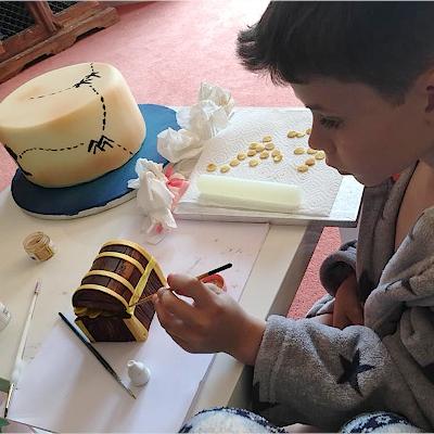 Junior Decorated Cake Category